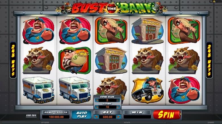 Есть такой игровой автомат с названием «однорукий бандит» Bust